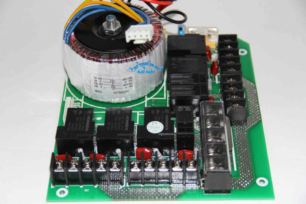 CHINESE HOT TUB SPA CONTROL PACK - Main Relay Power Board KL8-2, TCP8-2, KL8-3, TCP8-3